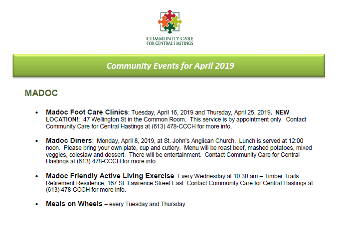 ccch April events